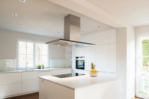 Küche M weiß matt - Küche, Privatbereich