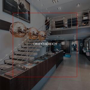 Objektbereich - Klares Design in der Geschäftswelt, Praxen oder Institutionen