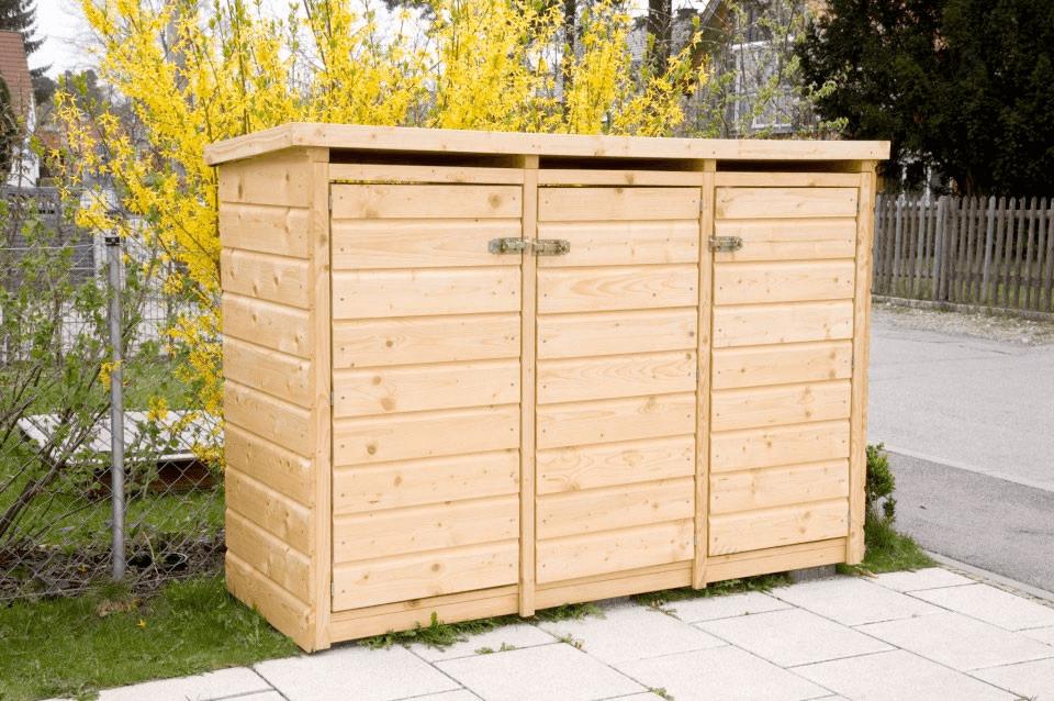 Gartenhaus R Mülltonnenbox - Garten, Privatbereich
