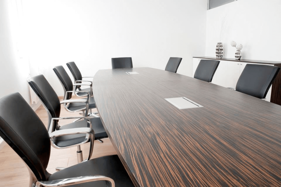 Büro AP Konferenztisch aus Makassar Furnier - Büro, Objektbereich