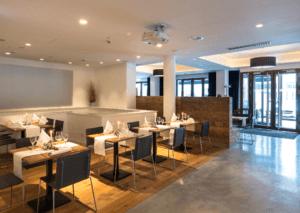 Restaurant Ottantanove Überblick Tische - Objektbereich, Restaurants