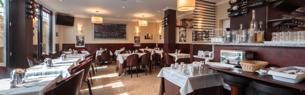 Restaurant Cucina Italiana Weinregale Birke gebeizt lackiert - Objektbereich, Restaurants