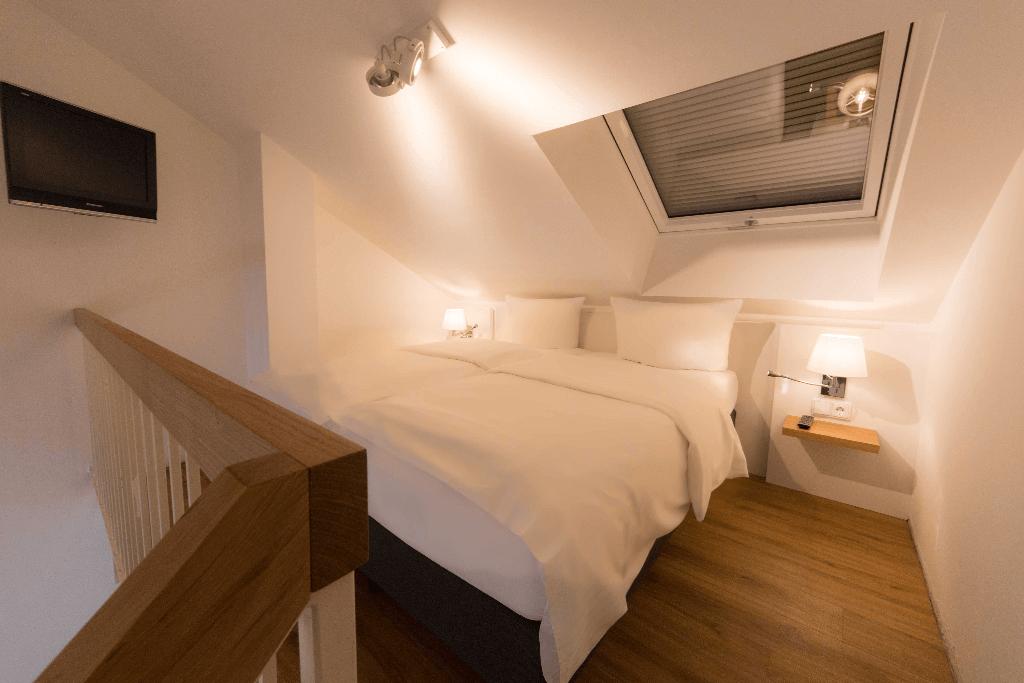 Hotel Vi Vadi Downtown München Schlafbereich - Hotels, Objektbereich