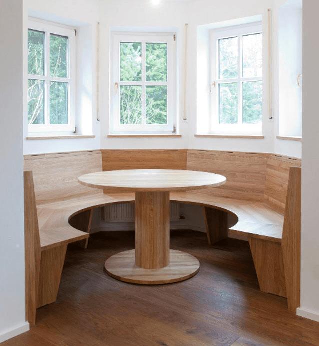 Eckbank H Überblick - Privatbereich, Wohnen