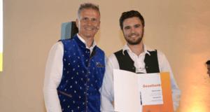 Schiller Wimmer - Bester Lehrling mit Gesellenbrief