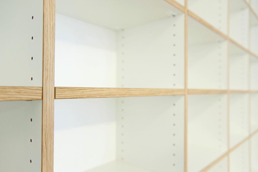 Bibliothek H Detailansicht - Privatbereich, Wohnen