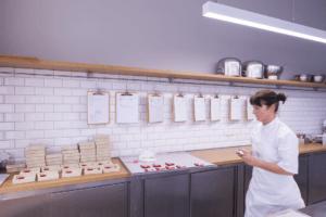Laden Keksliebe Produktionstheke - Läden, Objektbereich