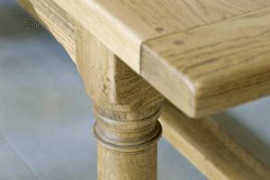 Tisch N Detailansicht Fuß - Küche, Privatbereich