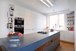 Wohnen W.A Küche Arbeitsplatte grau - Küche, Privatbereich